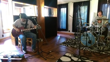 Recording at the Wilderness Studios